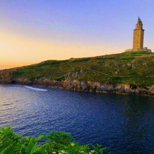 paisaje de A Coruña